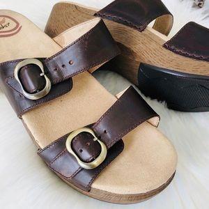 New!! Dansko Sophie Two Strap Slide Sandal Sz 10